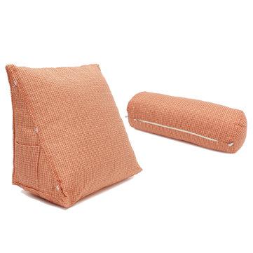 Adjustable Sofa Bed Pillow Cushion Lumbar Back Support Wedge Neck Waist Rest Brace