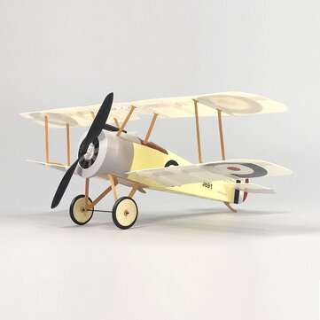 MinimumRC New Generation 380mm Sopwith Camel Scale Biplane RC Airplane Kit