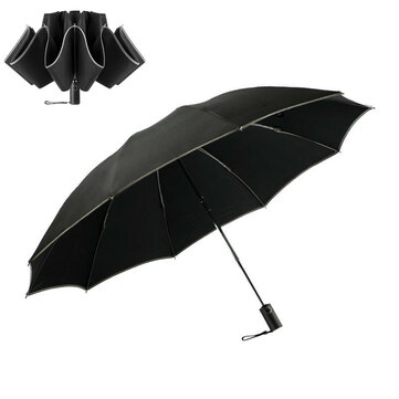 Xmund XD-HK6 1-2 People Folding Automatic Umbrella With Leather Cover
