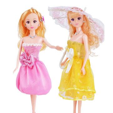 Doll Dress Up Princess Wedding Plastic High End Gift Box Dolls Action Figure