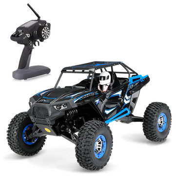 Wltoys 10428B 1/10 2.4G 4WD 30km/h Rc Car Rock Crawler Vehicle Climbing Truck RTR Model