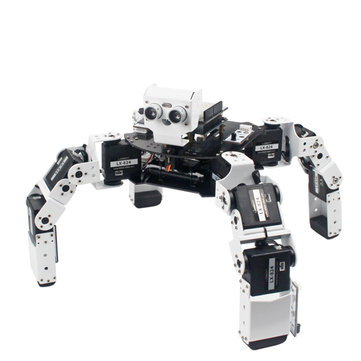 $280.49 For LOBOT CR-4 DIY 4-Leged Programmable Infrared Control Smart RC Robot