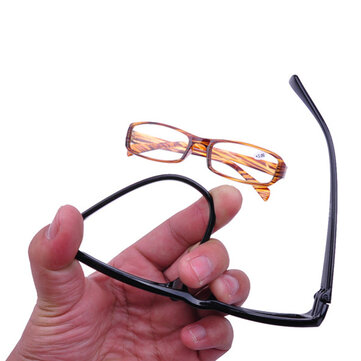 Men Women HD Full Frame Super Lightweight Reading Glasses Flexible Reader Presbyopic Glasses