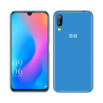 Elephone A6 Mini 5.71 Inch HD+ Android 9.0 3180mAh Side Fingerprint 4GB 32GB MT6761 Quad Core 4G Smartphone