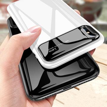 Bakeey Beskyttelsesveske til iPhone XS 2018 Beskyttet glassbeskyttelsesglas + PC Glanset bakdeksel
