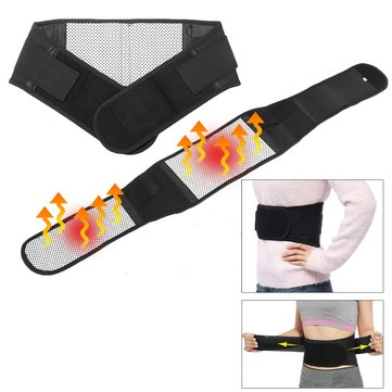 Magnetic Heat Waist Belt Brace For Pain Relief Lower Back Lumbar Therapy Support