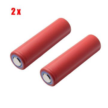 2pcs NCR18650GA 3.6V 3500mAh 10A Rechargeable Lithium Battery