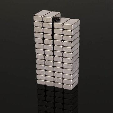 50pcs N48 Süper Güçlü Blok Mıknatıslar 10mm x 5mm x 3mm Toprakda Nadir Bulunan Neodim Mıktanısları