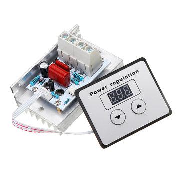 US 10000W AC 220V SCR Speed Controller Motor Electronic Voltage Regulator Dimmer