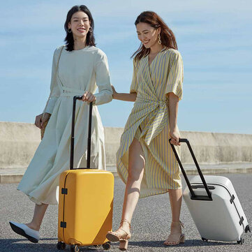 Xiaomi 90 Fun 20/24inch Travel Suitcase 33L/65L Polyester TSA Lock Spinner Wheel Carry On Luggage Case