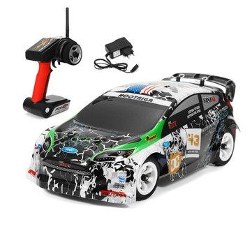 Wltoys K989 1/28 2.4G 4WD Rally Coche RC Cepillado