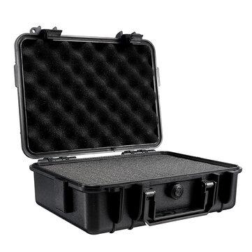 275x210x90mm Máy ảnh cứng mang theo nước cứng Máy ảnh ống kính Công cụ chụp ảnh Hộp đựng túi lưu trữ với miếng bọt biển