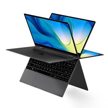 [限定版] BMAX Y13 PowerYUGAラップトップ13.3インチ360度タッチスクリーンIntelコアm7-6Y758GB RAM 256GB SSD38Whバッテリーフル機能Type-Cバックライト付き5mmナローベゼルノートブック
