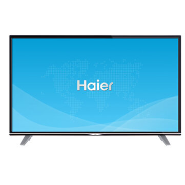 Haier U49H7000 49 Inch DVB-T/T2/S/S2/C Smart TV Television Support 4K Netflix  Dolby Digital Plus DTS HD