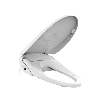 Tinymu Pro Smart Toilet Seat Cover Instant Heating IPX4 Waterproof 8 Cleaning Mode 4 Gear Temperature Adjustable Bidet with LED Night Light Auto Wind Drying from Xiaomi Youpin for sale in Bitcoin, Litecoin, Ethereum, Bitcoin Cash with the best price and Free Shipping on Gipsybee.com