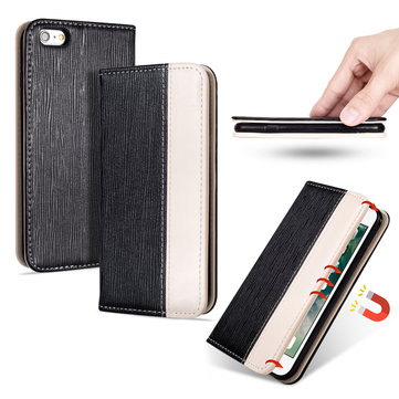 Bakeey Premium Magnetic Flip Card Slot Kickstand Protective Case For iPhone 6s Plus/6 Plus