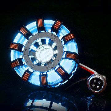 MK2 Tony DIY Arc Reactor Lamp Stainless Steel Kit Illuminant LED ...