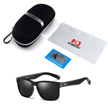 UV400 Polarized Glasses Driving Sports Sunglasses Black Green Blue with Box