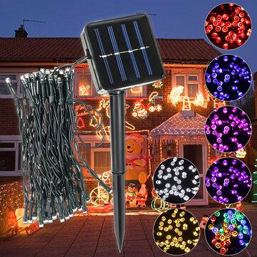 Outdoor Solar Powered 5.2M 50 LED Fairy String Light Yard Garden Path Chirstmas Lamp