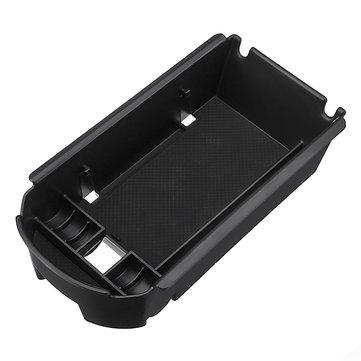 टोयोटा सीएचआर के लिए ब्लैक प्लास्टिक कार सेंटर आर्मस्ट कंसोल स्टोरेज बॉक्स फोन धारक सिक्का आयोज