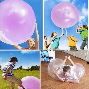 $10.14 for 1 Meter Huge Amazing Tear Resistant WUBBLE Bubble Ball Kids Inflatable Toys