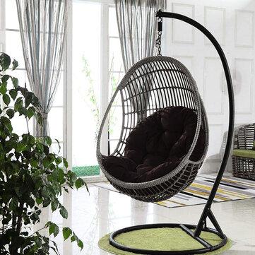 Chair Cushion Hanging Egg Rattan Swing Seat Pads Garden Patio Indoor Outdoor