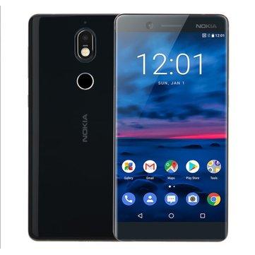 Nokia 7 5.2 Polegada 16MP Câmera Traseira NFC 4 GB RAM 64GB ROM Snapdragon 630 Octa-Core 4G Smartphone