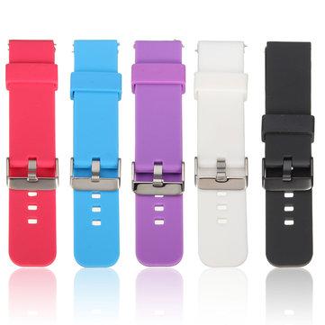 Спортивные часы Силиконовый Стандарты ремешок для Pebble Time Samsung Galaxy R380 Smart Watch