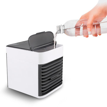 Loskii BT-05 Mini Portable Multi-function Spray Air Cooler Household Fan