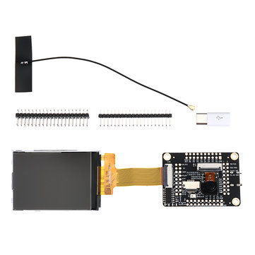 Sipeed M1 W Dock Development Board with WIFI + 2.4 inch 320*240 LCD Screen + OV2640 Camera Kit