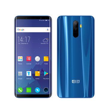 Elephone U 5.99 pulgadas AMOLED Flexible Curved Display 6GB RAM 128GB ROM MTK6763 2.0GHz 4G Smartphone