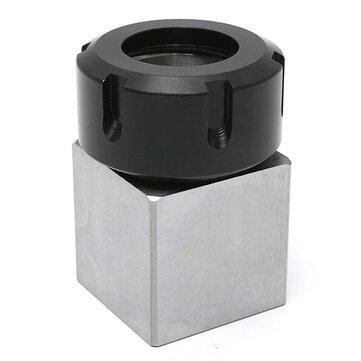 Hard Steel Square ER-32 Collet Chuck Block CNC Lathe Tool Holder