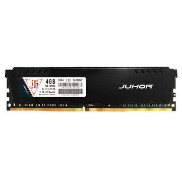 Juhor DDR4 4GB 8GB 16GB 2400Mhz 1.2V 288 Pin RAM Cooling Computer Memory For Desktop PC Computer