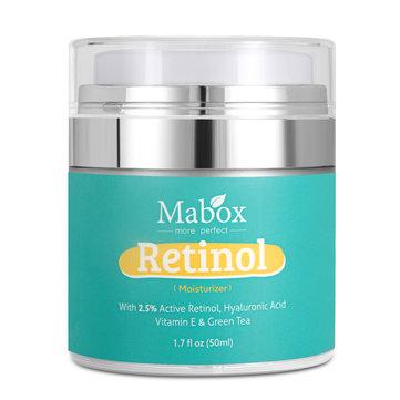 Kem dưỡng ẩm MABOX cho mặt và vùng mắt Chống lão hóa nếp nhăn Hyaluronic Acid Vitamin 50ml