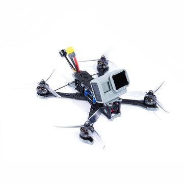 iFlight Nazgul5 227mm 4S 5 Inch FPV Balap Drone BNF / PNP SucceX-E F4 Kamera Caddx Ratel 45A BLheli_S ESC 2207 2750KV Motor