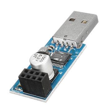 Bảng điều khiển mô-đun USB To ESP8266 WIFI Máy tính di động Truyền thông không dây MCU