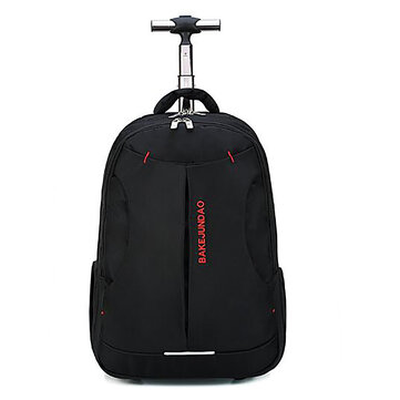 Travel Bag 18 inch Rolling Shoulders Backpack Trolley Luggage Suitcase Large Capacity Cabin Suitcases Business Laptop Bag