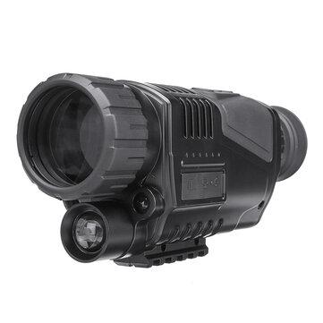 5x40 Digital Night Vision Monoculare FMC Telescopio infrarosso Supporto per teleobiettivo fotografica