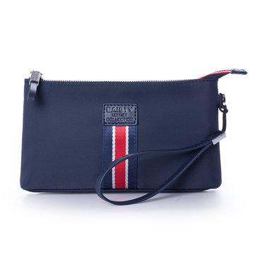 Men Oxford  Long Wallet Clutch Wrist Bag Document Passpsort Phone Handbag