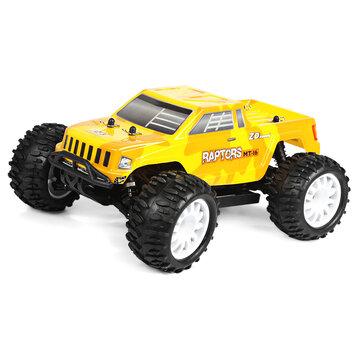 ZD Yarış 9053 1/16 2.4G 4WD Fırçasız Yarış Rc Araba 40km / h Canavar Kamyon RTR Oyuncakları