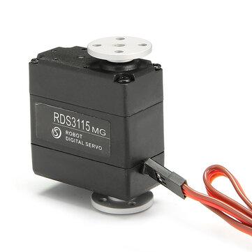 DSServo RDS3115MG 15KG Large Torque 180 Degree Biaxial Digital Servo for RC Robot