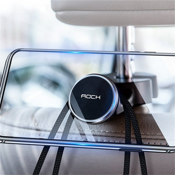 ROCK Powerful Magnetic 360° Rotation Car Backseat Holder Headrest Hook for Xiaomi Mobile Phone