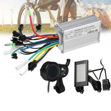 BIKIGHT 24V-48V 250W Bike LCD Smart Display Brushless Motor Controller Scooter E-Bike Electric Bicycle Accessories
