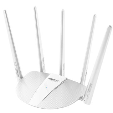 TOTOLINK AC1200 Wireless Dual Band Router WiFi Router 5 Omni-directional Antennas AP Repeater WISP Router for sale in Bitcoin, Litecoin, Ethereum, Bitcoin Cash with the best price and Free Shipping on Gipsybee.com