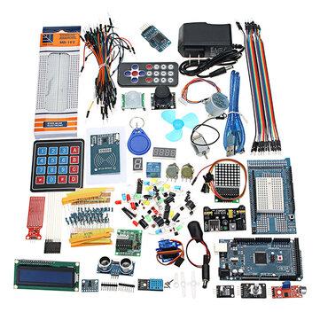 Geekcreit® Mega 2560 Arduino Mega2560 UNOR3 Nano No Batarya Sürümü İçin En Eksiksiz Başlangıç Seti