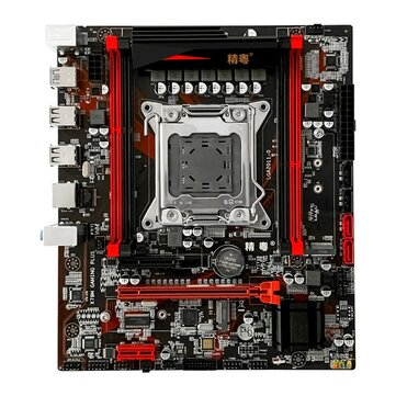 JGINYUE X79M GAMING PLUS Turbo Motherboard LGA 2011 For Intel i7 Xeon E5 V1&V2 Processor DDR3 128G ECC/NON-ECC Memory M.2