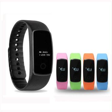 Reloj inteligente Corazón Salud Monitor Pulsera de medición de distancia de distancia para iPhone Android