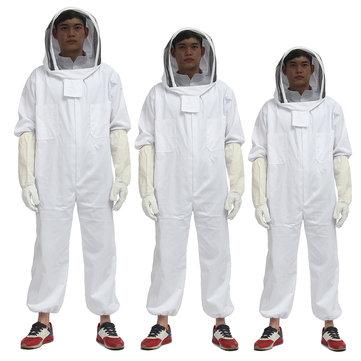 New Beekeeping Equipment Jacket Veil Bee Keeping Suit Hat Smock Protective