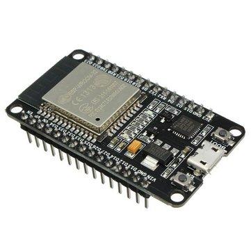 Geekcreit® 30 Pin ESP32 Placa de desarrollo WiFi + bluetooth Ultra bajo consumo de energía Núcleos dobles ESP-32 Junta ESP-32S