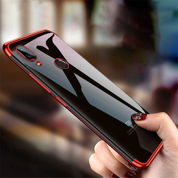 Bakeey ™ Custodia protettiva antipioggia trasparente antiurto Soft TPU per Xiaomi Redmi Nota 7 / Nota 7 Pro